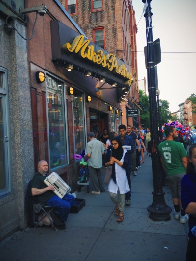 World Famous Mike's Pastry in Boston's North End