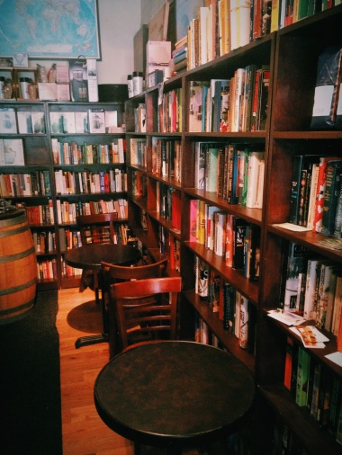 Have a seat and enjoy a book with your coffee and snack. The troubles outside will seem like a distant memory.