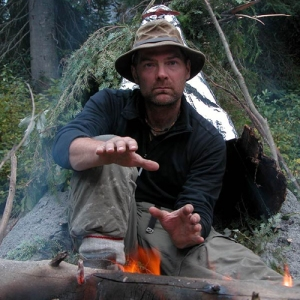 Don't die out there, kid. Photo: Les Stroud, Survivorman