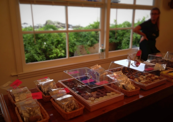 Homemade chocolate and candy from Perkins Cove Candies.