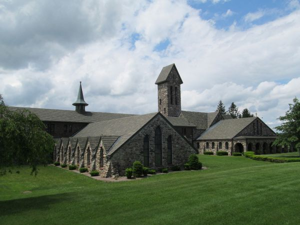 St Joseph's Abbey in Spencer, MA